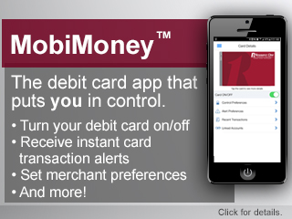 MobiMoney - Debit Card App