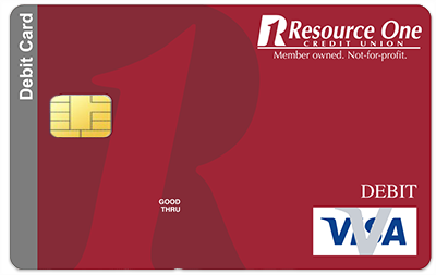 VISA Debit Card | Resource One Credit Union