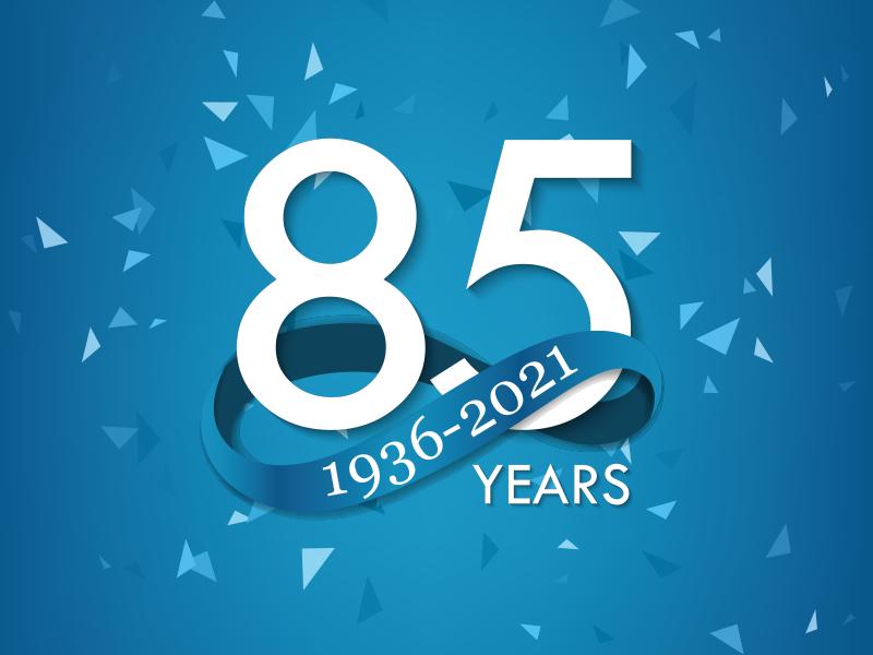 Press Release: 85th Anniversary